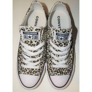Converse Leopard Print Low Tops